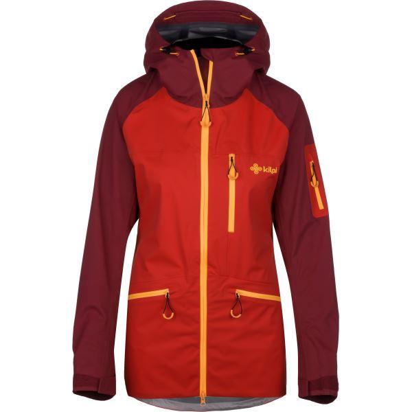 Dámská třívrstvá bunda KILPI NALAU-W červená