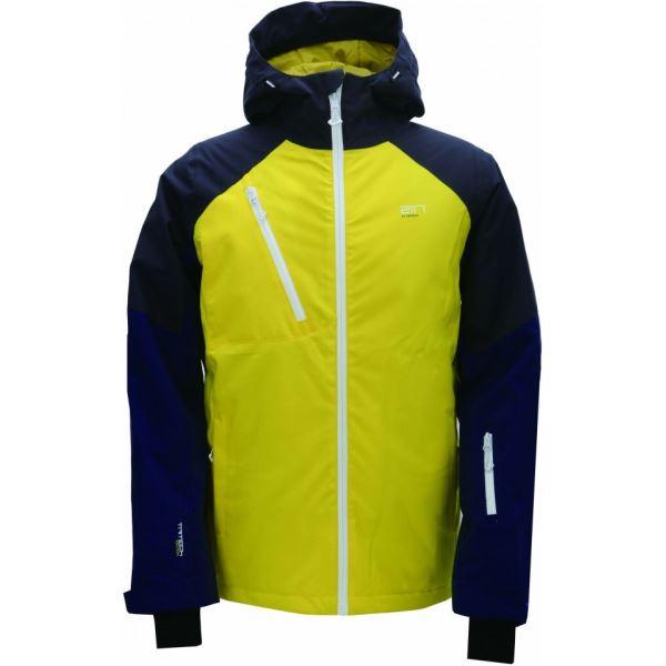 Pánská lyžařská bunda 2117 Jacket GRYTNÄS žlutá