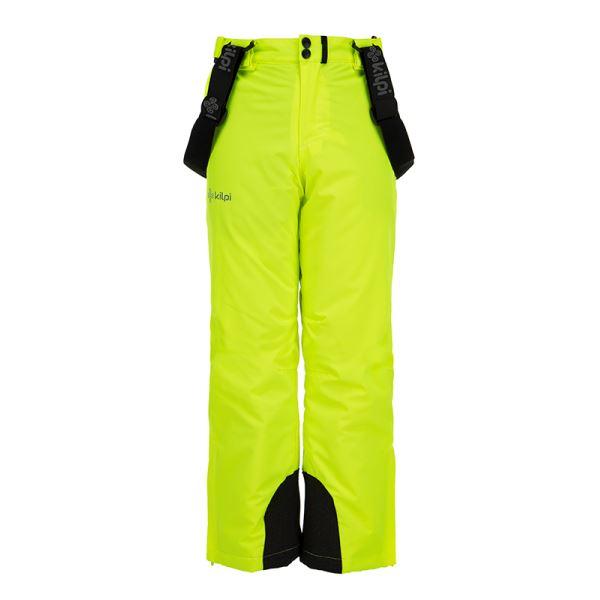 Dětské zimní lyžařské kalhoty KILPI METHONE-JB žlutá