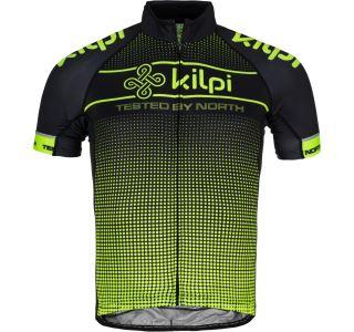 Pánský cyklistický dres KILPI ENTERO-M žlutá