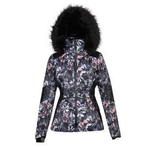 Dámská zimní lyžařská bunda Dare2b HIGHNESS černá/růžová