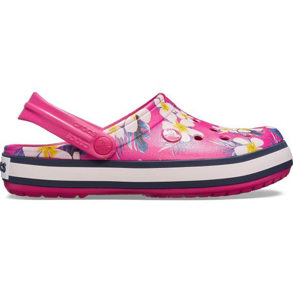 Dámské boty Crocs Crocband Seasonal Graphic Clog Candy růžová