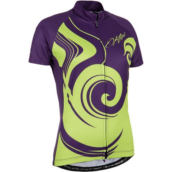 Dámský cyklistický dres KILPI FOXIERA-W fialová