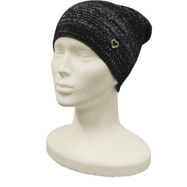 Dětská čepice CAPU 111 černá