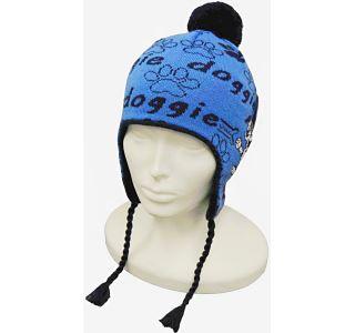 Dětská zimní čepice CAPU 4468 modrá