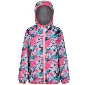 Dětská bunda Regatta PRINTED LEVER růžová