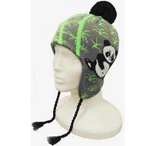 Dětská zimní čepice CAPU 4471 zelená
