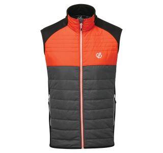 Pánská vesta Dare2b COORDINATE Vest šedá/oranžová