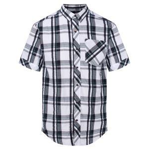 Pánská košile Regatta DEAKIN III bílá/tmavě modrá
