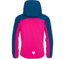 Dětská softshellová bunda KILPI ELIA-J růžová/modrá