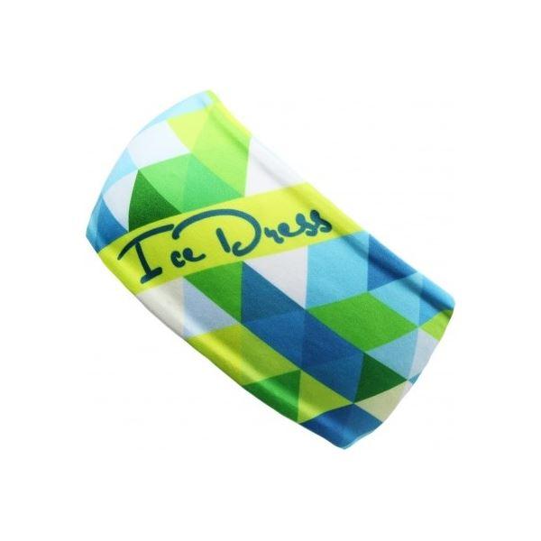 Univerzální funkční čelenka IceDress TRIANGL I zelená