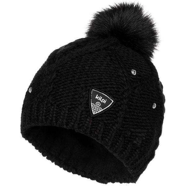 Dámská zimní čepice KILPI LADY-W černá (kolekce 2019)