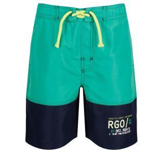 Dětské kraťasy  Regatta SHAUL II tmavě modrá/zelená