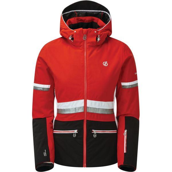 Dámská zimní bunda Dare2b EVIDENCE černá/červená