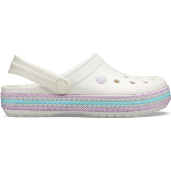 Dámské boty Crocs CROCBAND Sport Cord Clog bílá