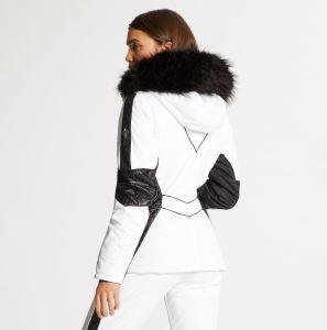 Dámská zimní bunda Dare2b EMPEROR bílá/černá