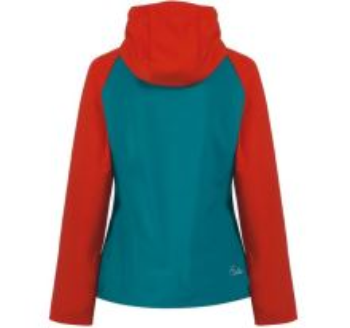 Dámská softshellová bunda Dare2b INSIGHTFUL modro/červená