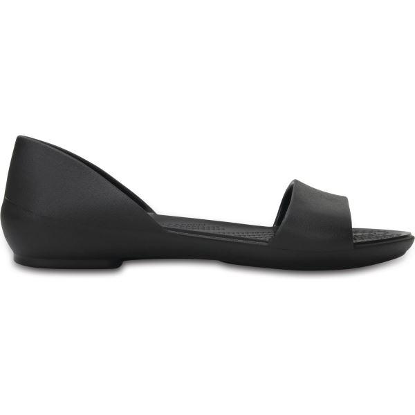 Dámské balerínky Crocs LINA D'ORSAY Flat černá