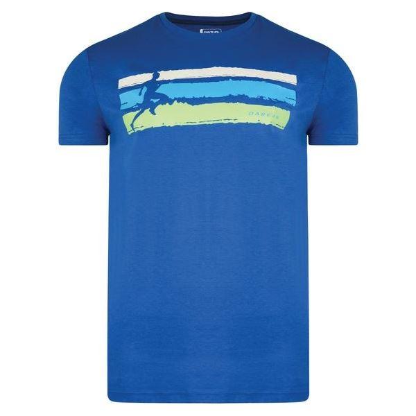 Pánské tričko Dare2b TRAILHUNTER modrá