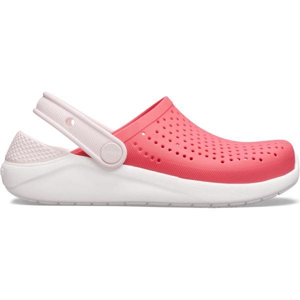Dětské boty Crocs LiteRide Clog K růžová/bílá