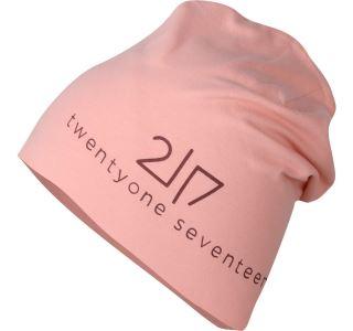 Unisex čepice 2117 SAREK korálově růžová