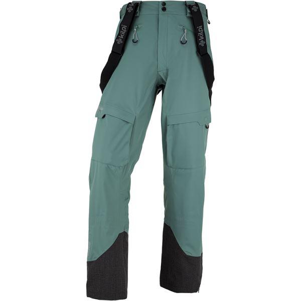 Pánské 3 vrstvé technické kalhoty KILPI LAZZARO-M khaki