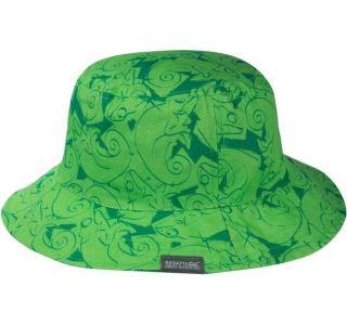 Dětský letní klobouk Regatta CRUZE zelená