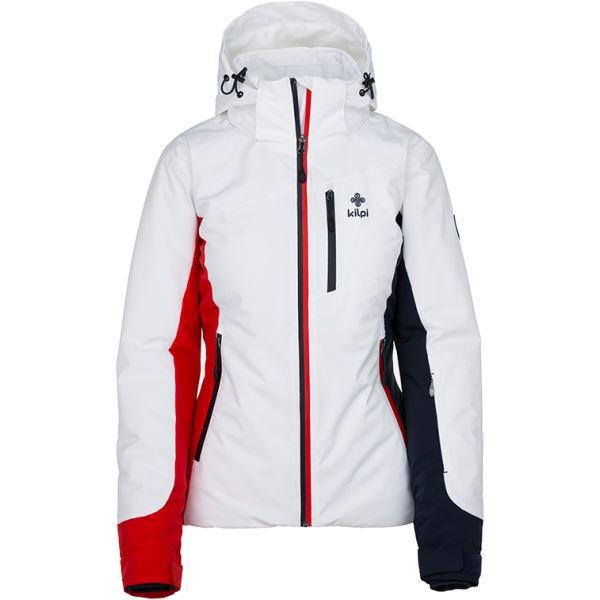 Dámská zimní lyžařská bunda KILPI SYLVA-W bílá