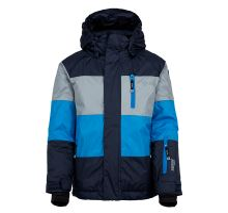 Dětská zimní bunda KILPI ORMES-JB tmavě modrá