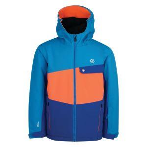 Dětská zimní bunda Dare2b WREST modrá/oranžová