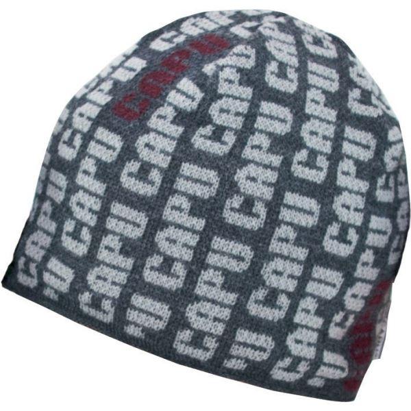 Pánská zimní čepice CAPU 1588 hnědá