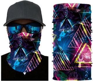 Unisex multifunkční šátek/nákrčník mix S69