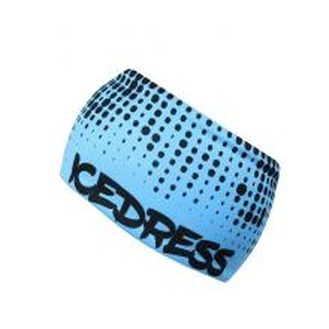 Univerzální funkční čelenka IceDress LIMITKA DOT II modrá