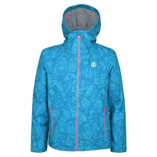 Dětská softshellová bunda Dare2b GIFTED modrá