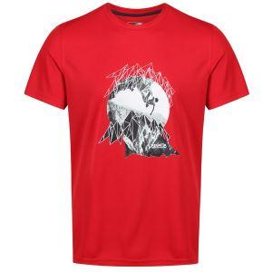 Pánské tričko Regatta FINGAL IV červená