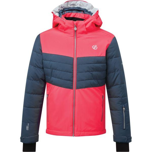 Dětská zimní bunda Dare2b FREEZE UP modrá/růžová