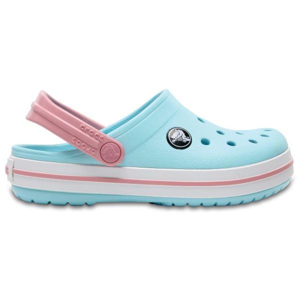 Dětské boty Crocs CROCBAND CLOG K světle modrá/bílá