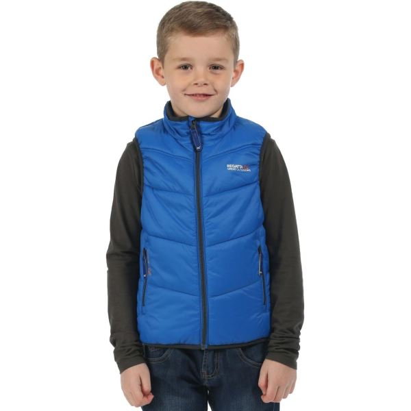 Dětská vesta Regatta ICEBOUND modrá
