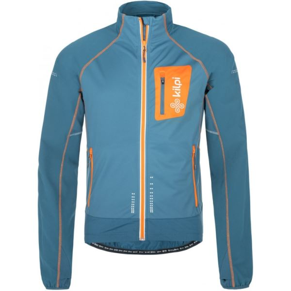 Pánská strečová technická bunda KILPI NORDIM-M modrá