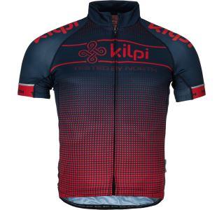 Pánský cyklistický dres KILPI ENTERO-M červená (kolekce 2019)