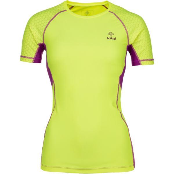Dámské funkční tričko KILPI COMBO-W žlutá