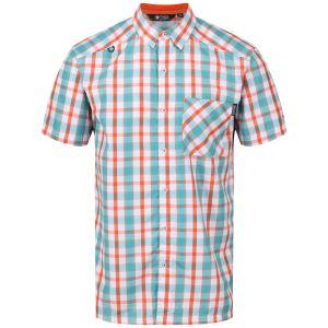 Pánská košile Regatta MINDANO III oranžová