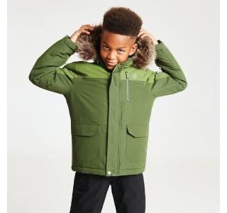 Dětská zimní bunda Dare2b FURTIVE zelená