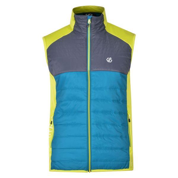 Pánská vesta Dare2b COORDINATE Vest modrá/zelená
