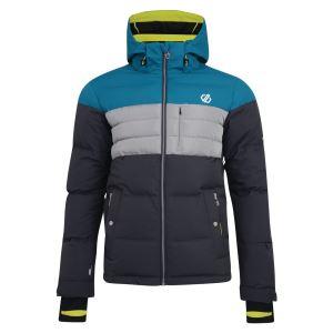 Pánská zimní lyžařská bunda Dare2b CONNATE šedá/modrá