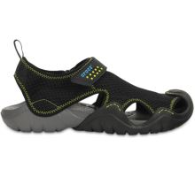Swiftwater Sandal - Black/Charcoal M10